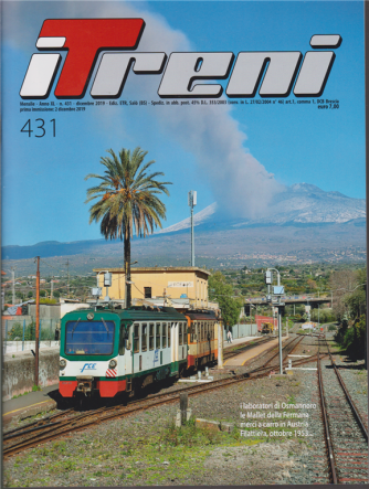 I treni - n. 431 - mensile - dicembre 2019 -