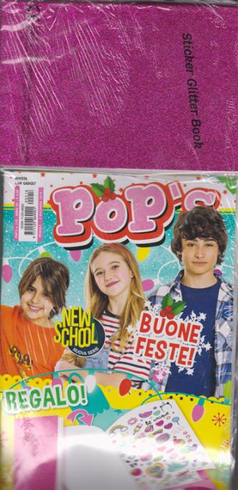 Pop's - +  Stickers Glitter Book - n. 218 - mensile - 3 novembre 2019 -rivista + gadget