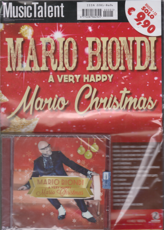 Mario Biondi a very happy Mario Christmas - rivista + cd