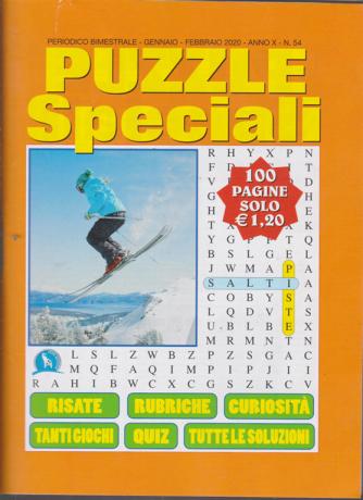 Puzzle Speciali - n. 54 - bimestrale - gennaio - febbraio 2020 - 100 pagine