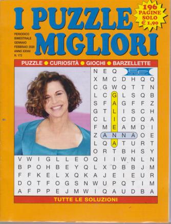 I puzzle migliori - n. 173 - gennaio - febbraio 2020 - bimestrale - 196 pagine