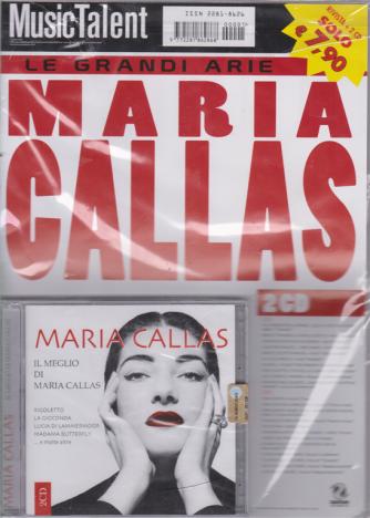 Music Talent Var.86 - Il Meglio di Maria Callas - rivista + 2  cd -