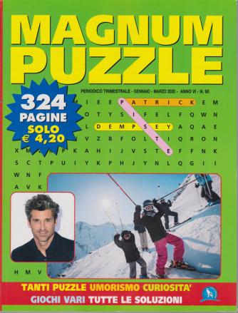 Magnum Puzzle - n. 60 - trimestrale - gennaio - marzo 2020 - 324 pagine
