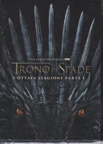 I Dvd Di Sorrisi6 - n. 1 - settimanale - 4/12/2019 - Il trono di spade - L'ottava stagione parte 1 - 2 dvd