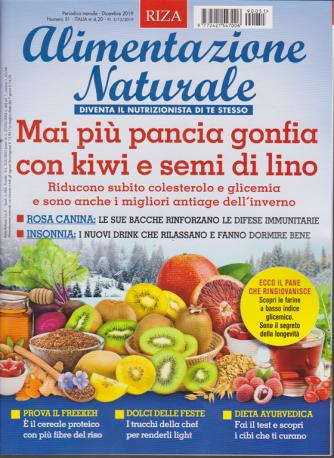 Alimentazione naturale - n. 51 - mensile - dicembre 2019 -