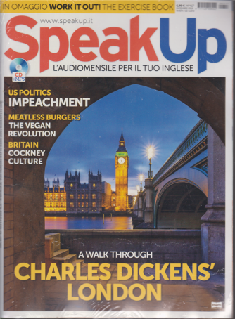 Speak Up - n. 417 - dicembre 2019 - rivista + cd audio