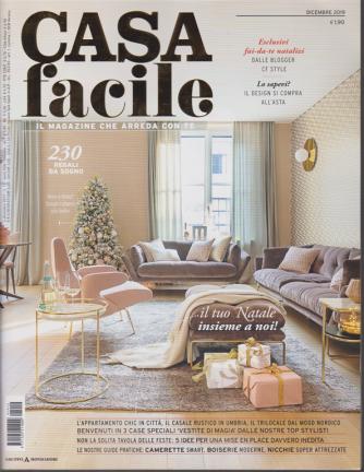 Casa Facile - n. 12 - dicembre 2019 - mensile