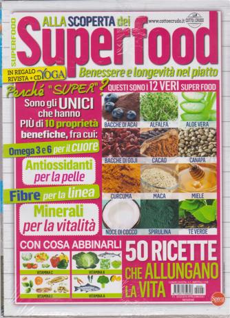 Cucinare Con Extra -Alla scoperta dei superfood - n. 5 - bimestrale - aprile - maggio 2019 - in regalo rivista + cd Yoga