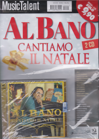 Music Talent Var.91 - Albano -  Cantiamo Il Natale - rivista + 2 cd