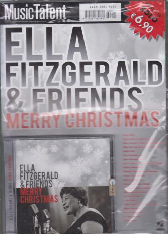 Music Talent Var.08 - Ella Fitzgerald & Friends - Merry Christmas - rivista + cd