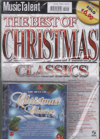 Music Talent Var.31 - The Best of Christmas classics - rivista + cd