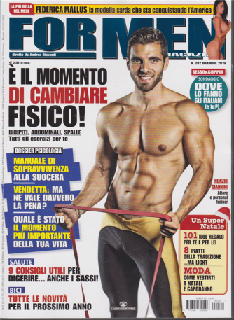 For Men Magazine - n. 202 - dicembre 2019 - mensile