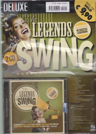 Saifam Music Deluxe  - The legends swing - doppio cd - + rivista -