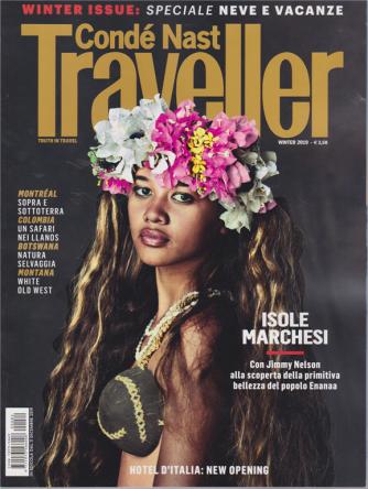 Conde Nast Traveller -n. 82 - trimestrale - 11 dicembre 2019 -