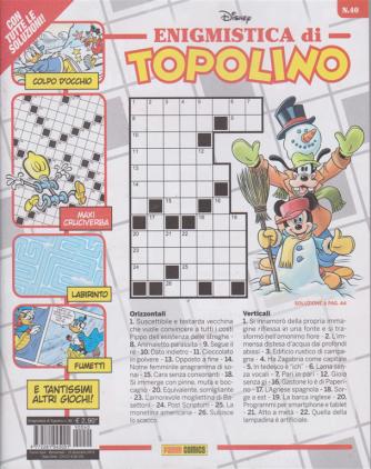 Enigmistica di Topolino - n. 40 - bimestrale - 13 dicembre 2019 -