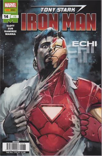Marvel - Iron man - n. 78 - Echi - mensile - 12 dicembre 2019