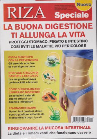 Riza speciale - La buona digestione ti allunga la vita - n. 15 - bimestrale - dicembre - gennaio 2020