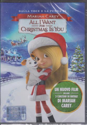 I dvd di Sorrisi 5 - n. 2 Dalla voce e la penna di Mariah Carey - All i want for Christmas is you - settimanale - 17/12/2019 -