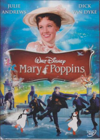Mary Poppins  - Walt Disney - I dvd fiction di Sorrisi 2 -n. 5 - settimanale - 17/12/2019 -