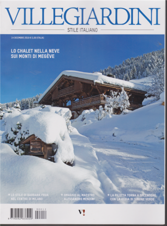 Villegiardini - stile italiano - n. 12 - 14 dicembre 2019 - mensile