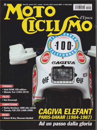 Motociclismo  d'Epoca - n. 1 - mensile - dicembre 2019 /gennaio 2020