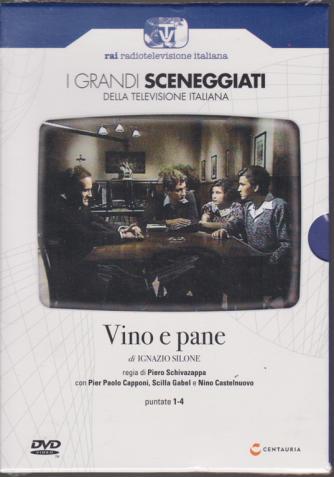 I grandi sceneggiati della televisione italiana - Vino e pane - di Ignazio Silone - puntate 1-4 - settimanale - 19/12/2019 -