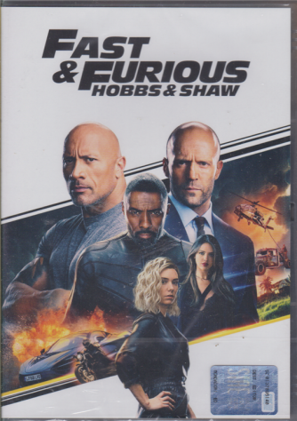 Fast & Furious hobbs & Shaw - I dvd di Sorrisi Collection - n. 1 - settimanale - 10/12/2019
