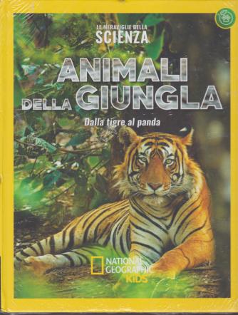 Le meraviglie della scienza - Animali della giungla - Dalla tigre al panda - n. 18 - settimanale - 20/12/2019 - copertina rigida
