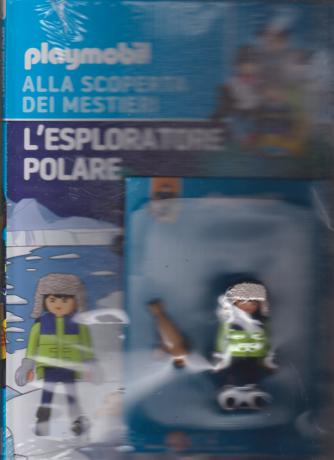 Playmobil alla scoperta dei mestieri - L'esploratore polare - n. 6 - quattordicinale - 21/12/2019 - copertina rigida
