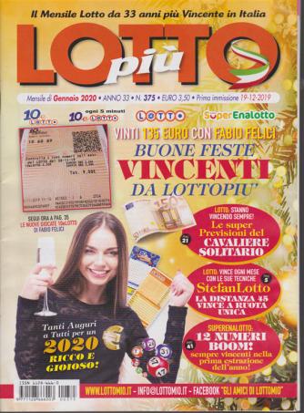 Lotto più - n. 375 - mensile - gennaio 2020 -