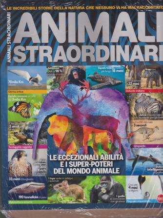 Animali straordinari + Misteri del mare - n. 6 - bimestrale - dicembre - gennaio 2020 - 2 riviste