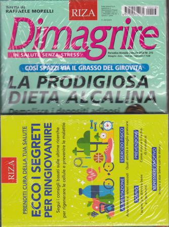 Dimagrire - + il libro Ecco i segreti per ringiovanire - n. 213 - mensile - gennaio 2020 - rivista + libro