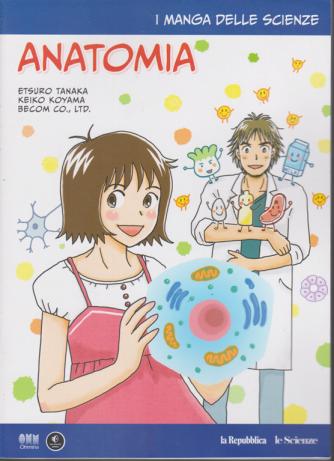 I manga delle scienze - Anatomia - n. 12 - settimanale