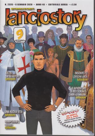 Lanciostory - n. 2335 - 6 gennaio 2020 - settimanale di fumetti