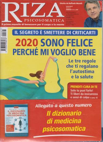 Riza psicosomatica + Il dizionario di medicina psicosomatica - n. 467 - gennaio 2020 - mensile - 2 riviste