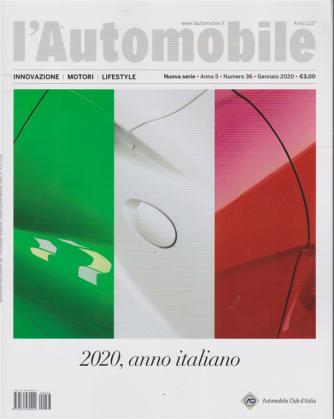 L'Automobile - n. 36 - gennaio 2020 - nuova serie