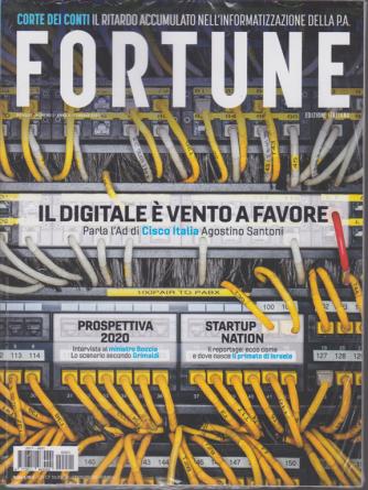 Fortune - n. 1 - mensile - gennaio 2020 - 2 riviste
