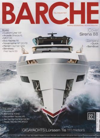 Barche - n. 1 - gennaio 2020 - mensile - italiano - inglese