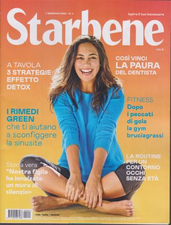 Starbene - n. 4 - 7 gennaio 2020 - settimanale