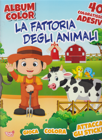 Album color -  La fattoria degli animali - n. 33 - bimestrale - 19 dicembre 2019