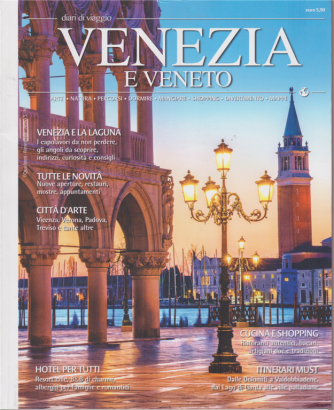 Diari di viaggio - n. 23 - Venezia e Veneto - bimestrale -