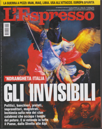 L'Espresso - n. 3 - 12 gennaio 2020 - settimanale