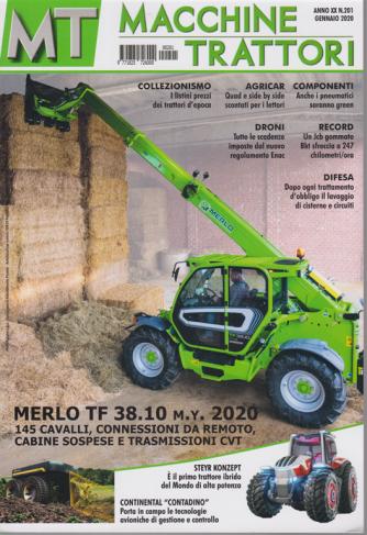 MT Macchine trattori - n. 201 - gennaio 2020 - mensile