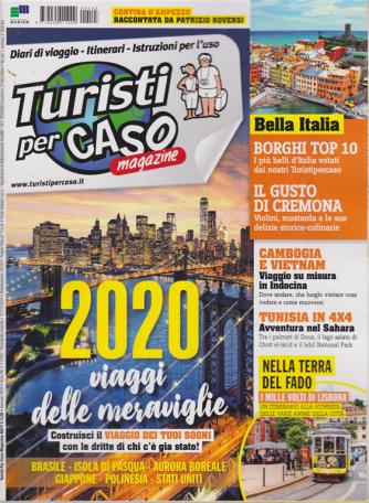 Turisti per caso magazine - n. 143 - gennaio 2020 - mensile -