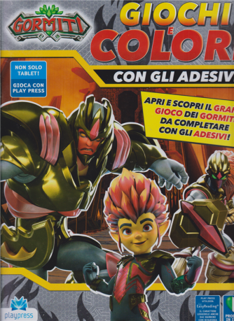 Gormiti - Giochi e colori - n. 5 - gennaio - febbraio 2020 - bimestrale -