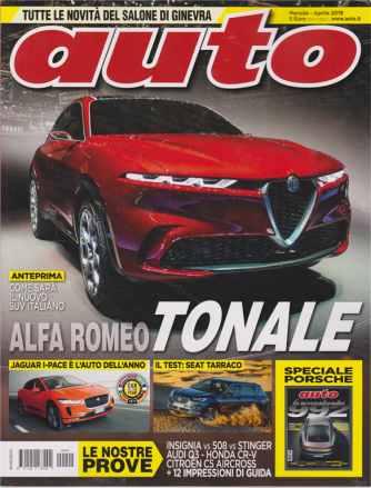 Auto - n. 4 - mensile - aprile 2019 -