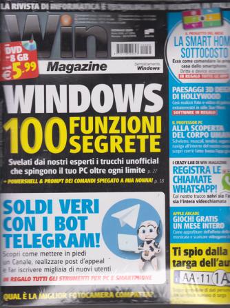 Win magazine - n. 265 - gennaio 2020 - mensile + dvd da 8 GB