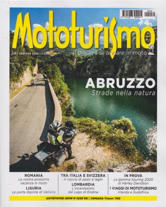 Mototurismo - n. 259 - gennaio - febbraio 2020 - bimestrale