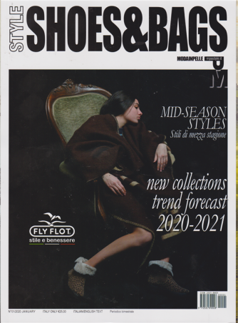Style shoes & bags - n. 1 - january - gennaio 2020 - bimestrale - italiano - inglese