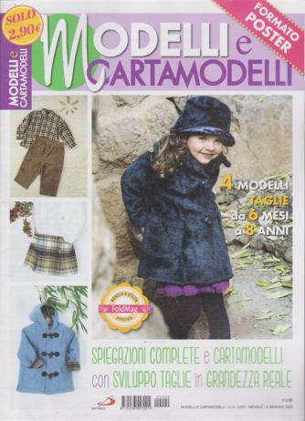 Modelli e cartamodelli formato poster - n. 9 - mensile - 9 gennaio 2020 -